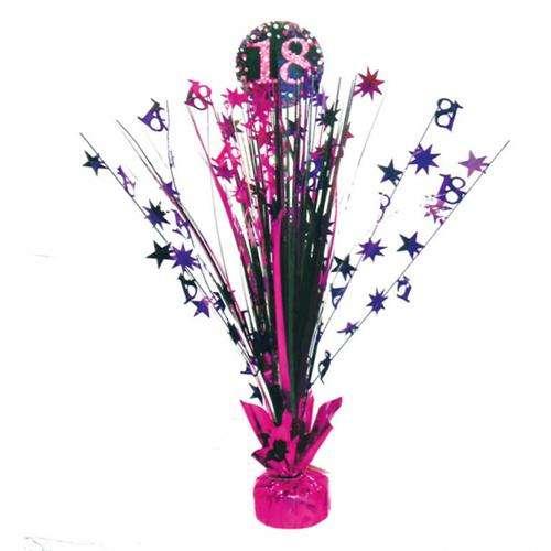 Dekoracja Na Stół 18 Urodziny 46cm 1 Szt Akcesoria Dekoracyjne