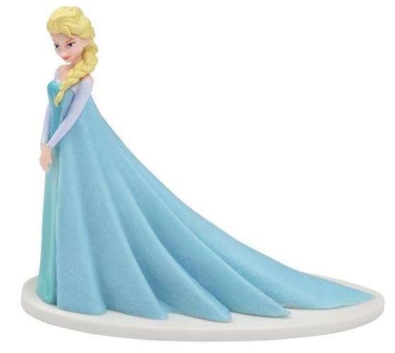 Figurka Na Tort Pvc Elsa Frozen Kraina Lodu 1szt Akcesoria