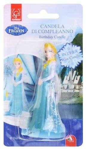 świeczka Na Tort Frozen Kraina Lodu 1szt Akcesoria Dekoracyjne